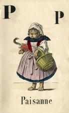 09x077 P, Alphabet Book Illustrations from Winterthur's Magnus Collection